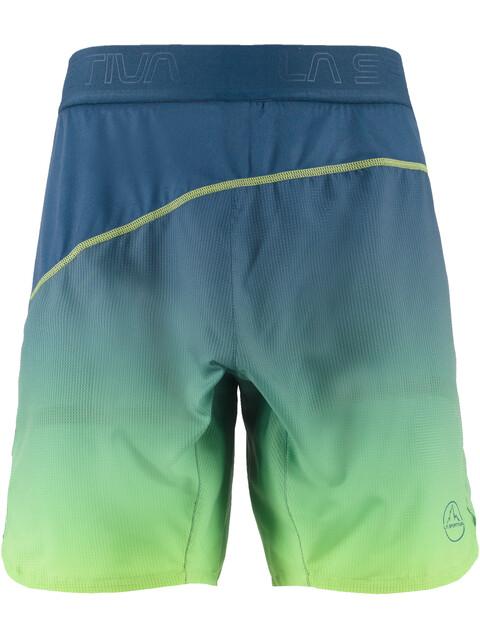La Sportiva Medal - Pantalones cortos running Hombre - verde/azul